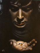 The Lord Of The Ring Prints - One Ring Print by Karsten Coty-Scholl
