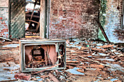 Deserted House Framed Prints - One Thousand Channels  Framed Print by JC Findley