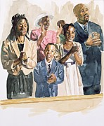 African-american Painting Posters - One Voice Poster by Colin Bootman