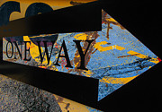 One Way Prints - One Way  Print by Jerry Cordeiro