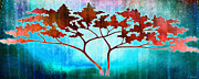 Tree Art Print Mixed Media - Oneness by Jaison Cianelli