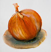 Minimalistic Paintings - Onion Study by Jani Freimann