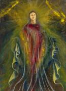 Religious Artist Mixed Media Posters - Only ONE Illuminates My Soul III Poster by Giorgio Tuscani