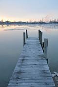Randy J Heath - Ont the dock at sunrise