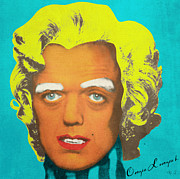 Signature Digital Art - Oompa Loompa Blonde by Filippo B