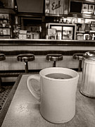 Old Diner Photos - Open All Night by Edward Fielding