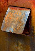 Rusted Cars Prints - Open Cap Print by Jean Noren