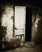Gloomy Framed Prints - Open Door Framed Print by Skip Nall