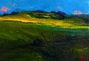 Buy Art Online Prints - Open Field in Germany Print by Patricia Awapara