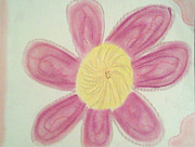 Open Pastels - Open Flower by Judith Moore