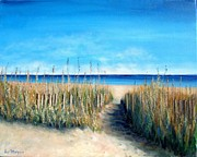 Sand Fences Originals - Open Invitation by Laurie Morgan