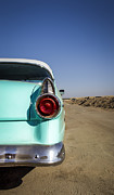 Custom Car Photos - Open Road- Metal and Speed by Holly Martin