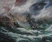 Open Sea - Dangerous Drift II Print by Stefano Popovski
