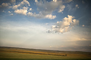 Montana Landscape Prints - Open Skies Print by Andrew Soundarajan