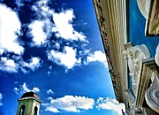 Old San Juan Digital Art Prints - Open sky Print by Olivier Calas