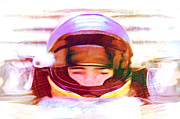 Indy Car Mixed Media Prints - Open Wheel Print by Dennis Buckman