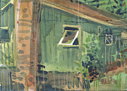 Featured Mixed Media Originals - Open Window by Donald Maier