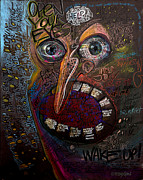 Emotions Art - Open Your Eyes by Frank Robert Dixon