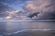 Storm Clouds Prints - Opening Clouds Print by Andrew Soundarajan