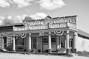 Opera House Photos - OPERA and THEATRE - VIRGINIA CITY MONTANA by Daniel Hagerman