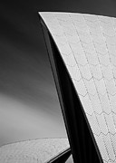 Semi Abstract Metal Prints - Opera House Metal Print by David Bowman