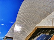 Sydney Photographs Framed Prints - Opera House  Framed Print by Peter Evans