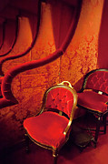 Posh Photo Posters - Opera Seat Poster by Brian Jannsen