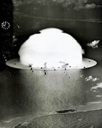 Atomic Bomb Photos - Operation Crossroads by Benjamin Yeager