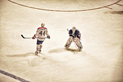 Hockey Photos - Opponents by Karol  Livote