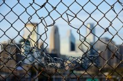 Chain Fence Posters - Opportunity Poster by Jim Hughes