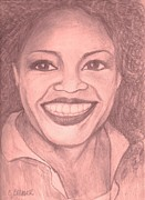Talk Show Host Posters - Oprah Poster by Christy Brammer