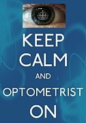 Carry On Art Photos - Optometrist by Daryl Macintyre