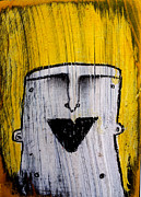 Emotions Mixed Media Prints - Or as Human As You Know It No 148 Print by Mark M  Mellon
