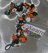 Jan Navarre - Orange black white...