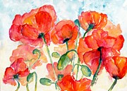 CheyAnne Sexton - Orange Field of Poppies