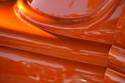 Orange Hotrod Print by Dean Ferreira