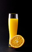 Orange Juice Prints - Orange juice Print by Gergana Chakalova