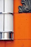 Orange Lite Print by Jamie Klock