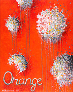 Grey Originals - Orange by Michelle Boudreaux