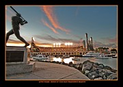 Sf Giants Prints - Orange October 2012 in San Francisco Print by Jorge Guerzon