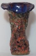 Orange Ceramics Originals - Orange on The Run by Susan Perry