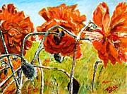 Richard Jules - Orange Poppies