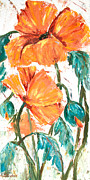Sharon Sieben - Orange Poppies