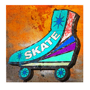 Gail Lawnicki - Orange Skate