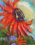 Paris Wyatt Llanso - Orange Sunflower