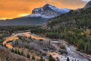 Adam Jewell - Orange Swiftcurrent Creek