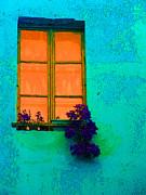 Ann Johndro-Collins - Orange Window With...
