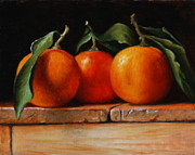 Chiaroscuro Originals - Oranges by Dan Petrov