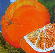 Paris Wyatt Llanso Prints - Oranges Print by Paris Wyatt Llanso