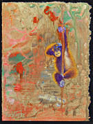 Tracy L Teeter - Orangutan Abstract